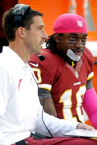 Mike Shanahan advises Kyle to be patient