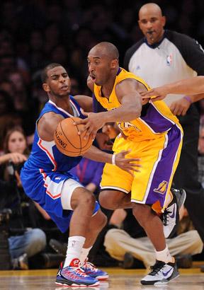 Kobe Bryant, Chris Paul