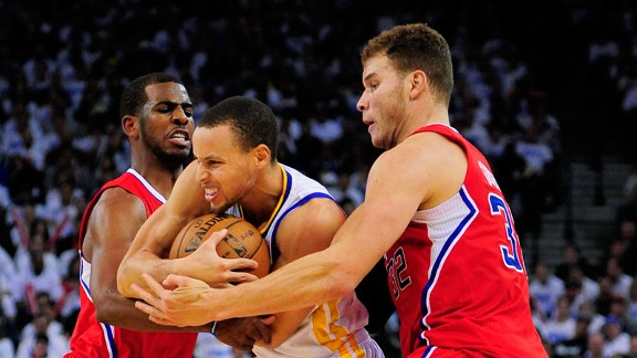 Stephen Curry, Chris Paul, Blake Griffin
