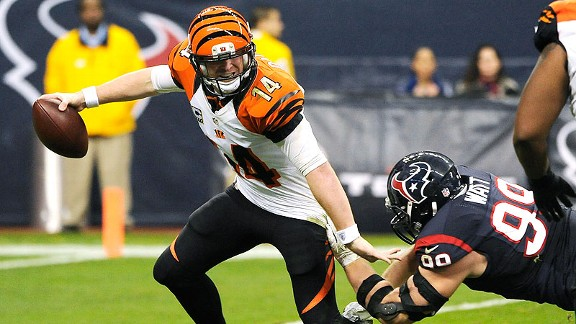 Bengals quarterback Andy Dalton