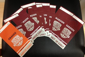 BCS parking passes for the National Championship Game in Miami