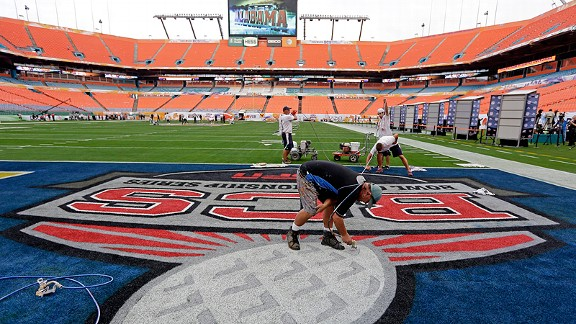 BCS National Championship Game at Sun Life Stadium
