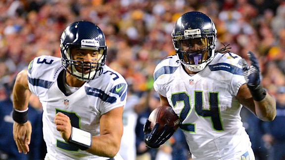 All aboard: Lynch, Seahawks travel well