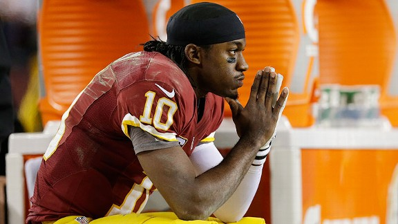 RG III should have come out of the game