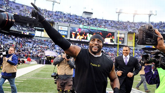 Ray Lewis, Ravens defense rise to occasion