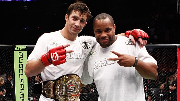 Luke Rockhold and Daniel Cormier