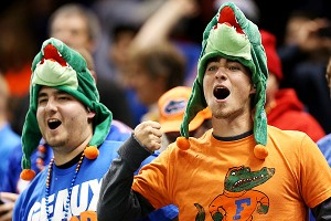 Florida Fans at Sugar Bowl