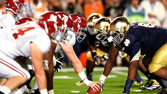Alabama vs Notre Dame