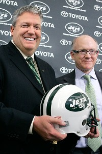 Rex Ryan and Woody Johnson.