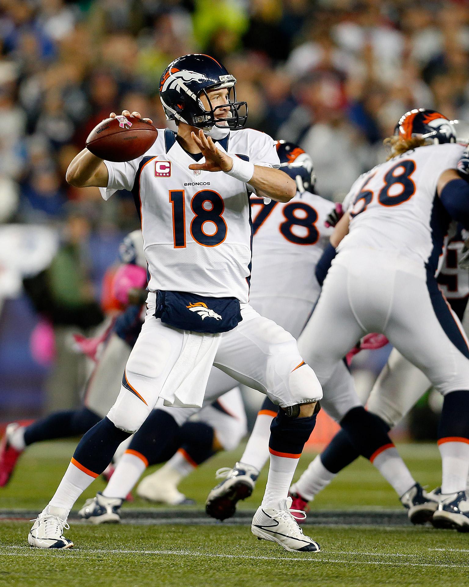 Oct. 7, 2012: Patriots 31, Broncos 21