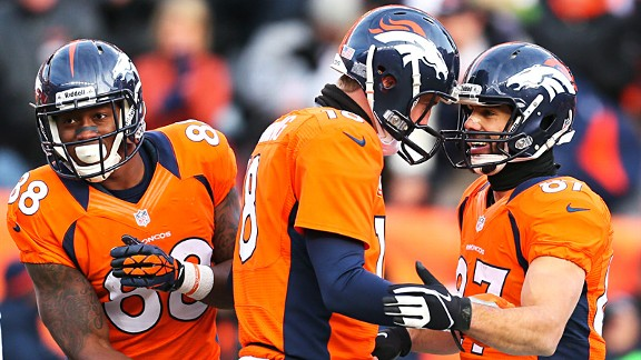 Manning, young WRs acing chemistry test