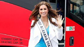 Katherine Webb, Miss Alabama girlfriend of Alabama Crimson Tide quarterback AJ McCarron