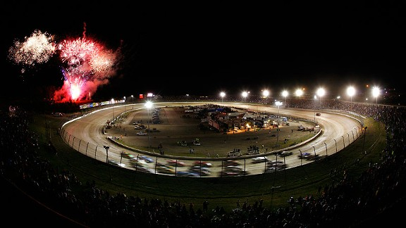 Eldora Speedway, site of Tony Stewart's annual Prelude to the Dream all-star charity event, will host a Camping World Truck Series race July 24 -- NASCAR's first venture on dirt in 43 years.