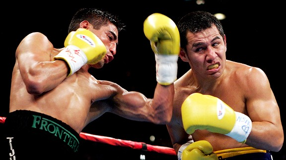 Erik Morales and Marco Antonio Barrera