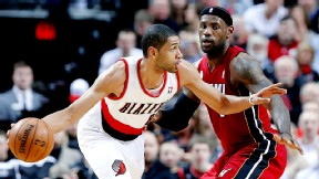 AP Photo/Don Ryan Nicolas Batum and the Blazers rallied late.