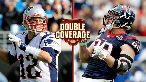 Double Coverage: Texans at Patriots