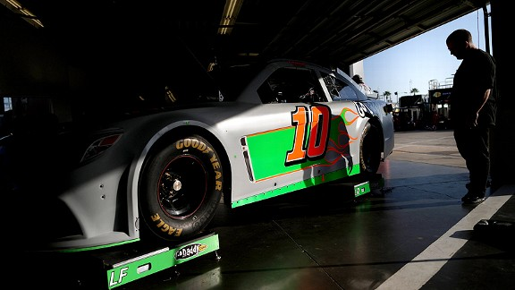 Danica Patrick's car