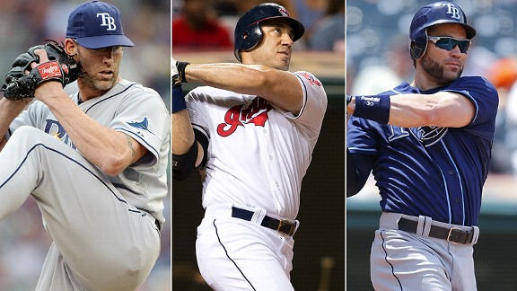 Kyle Farnsworth/Travis Hafner/Luke Scott