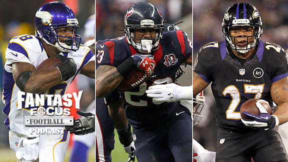 Adrian Peterson/Arian Foster/Ray Rice
