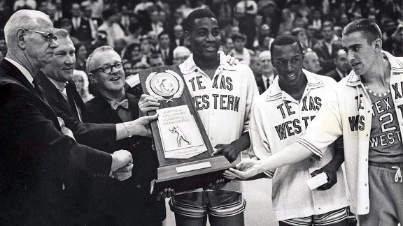 Texas Western made history with its win over Kentucky in the 1966 national championship game.