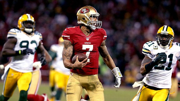 No debating what Kaepernick brings 49ers