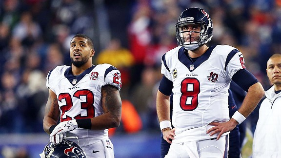 Texans can't handle Pats' pace, personnel