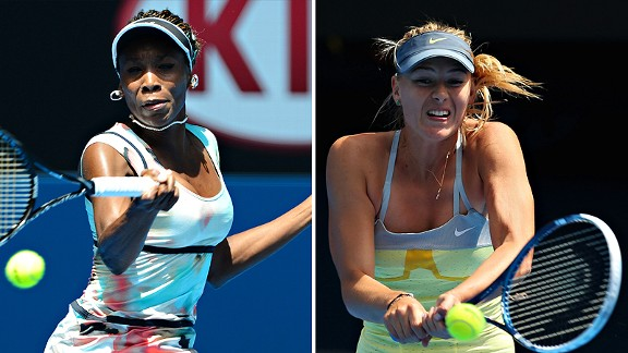 Sharapova/Williams