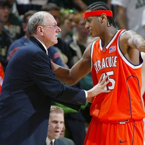 Jim Boeheim, Carmelo Anthony