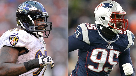 Round 2: Arthur Jones vs. Chandler Jones