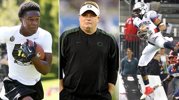 Dontre Wilson, Chip Kelly, Darren Carrington