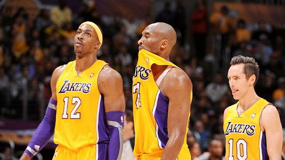 Los Angeles Lakers dejection