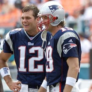 Tom Brady, Damon Huard