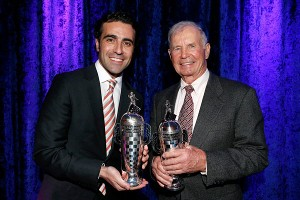 Parnelli Jones and Dario Franchitti