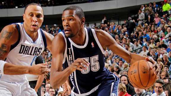 Kevin Durant, Shawn Marion 