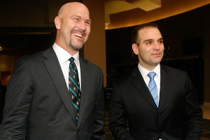 Gus Bradley and Dave Caldwell