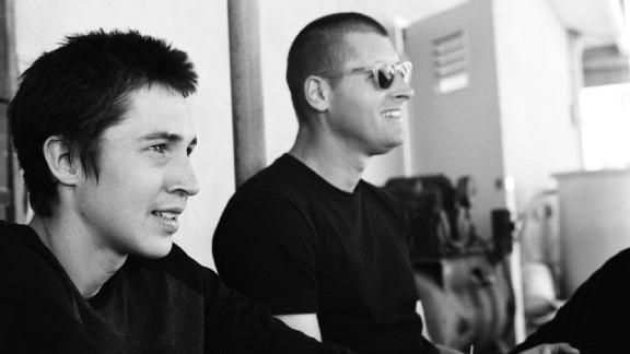 Elijah Berle and filmmaker Ty Evans
