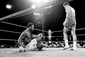 Joe Frazier, George Foreman