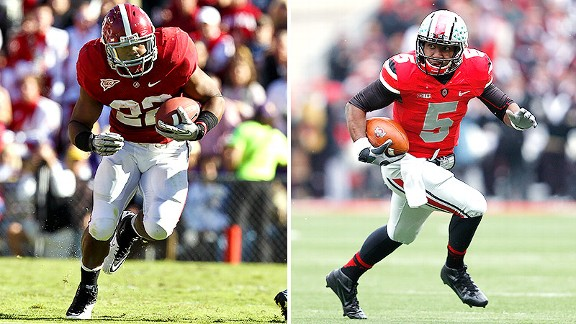 Mark Ingram, Braxton Miller