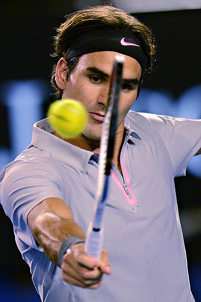 Federer - Dubai '13