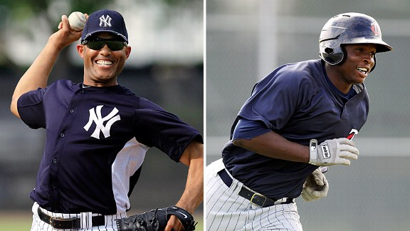 Mariano Rivera and Miguel Sano