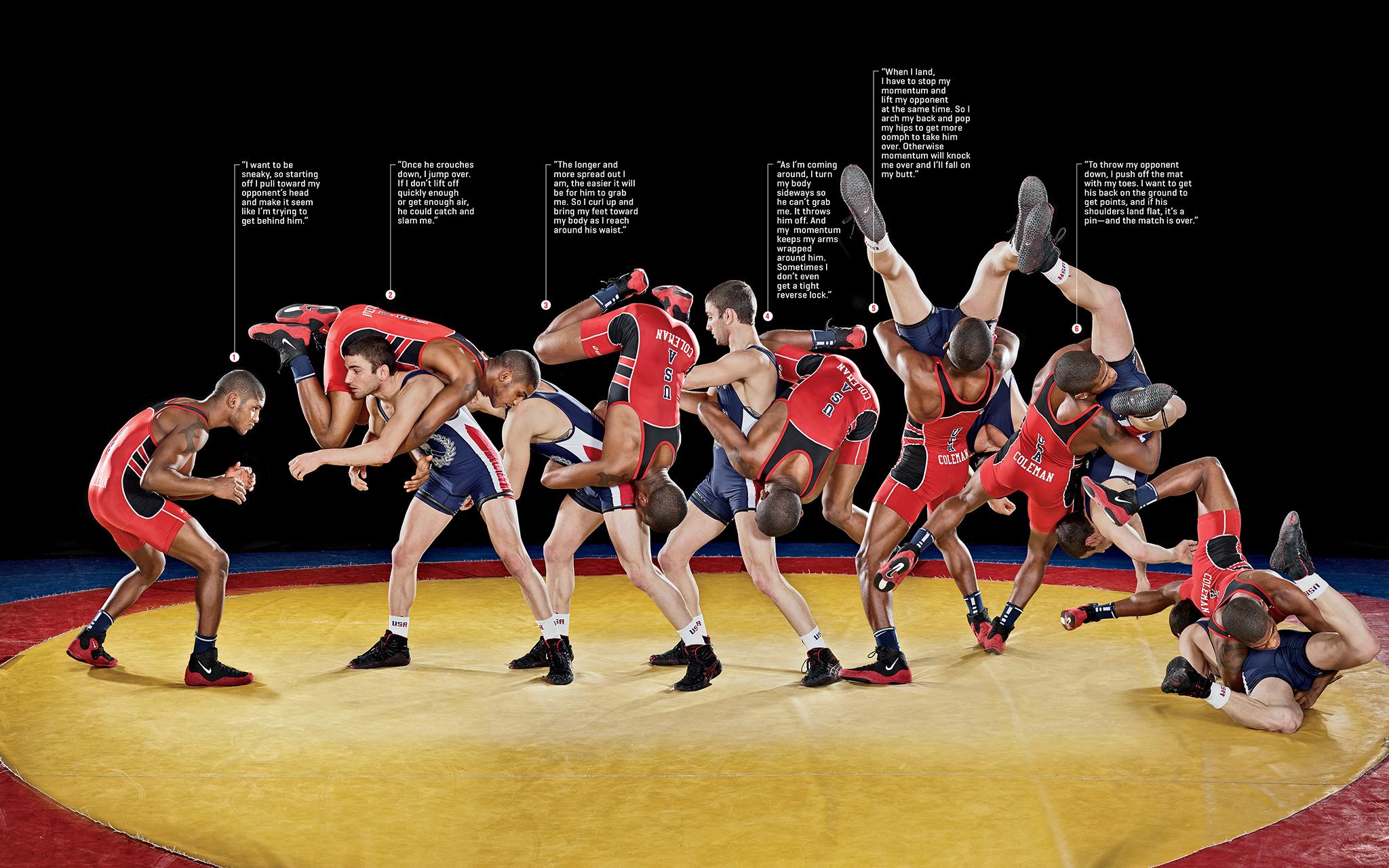 Ellis Coleman U S Olympic Wrestler So Crazy It Just