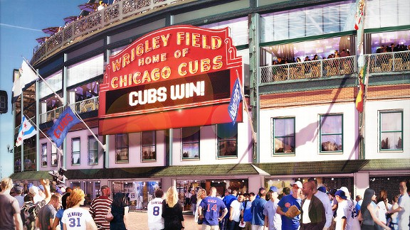 Wrigley Renovation