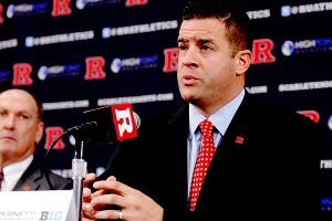 Rutgers' Tim Pernetti
