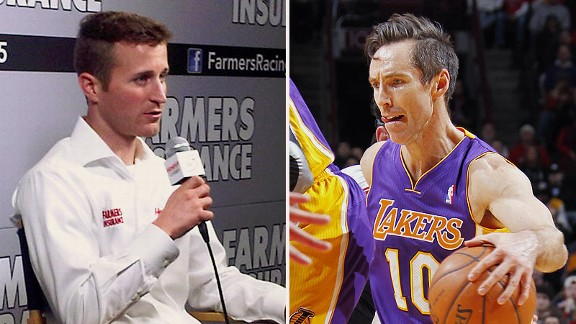  Kasey Kahne and Steve Nash