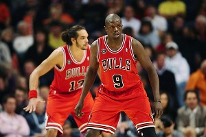 Luol Deng and Joakim Noah