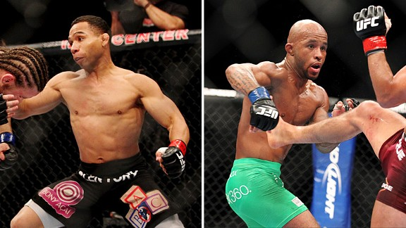 John Dodson and Demetrious Johnson