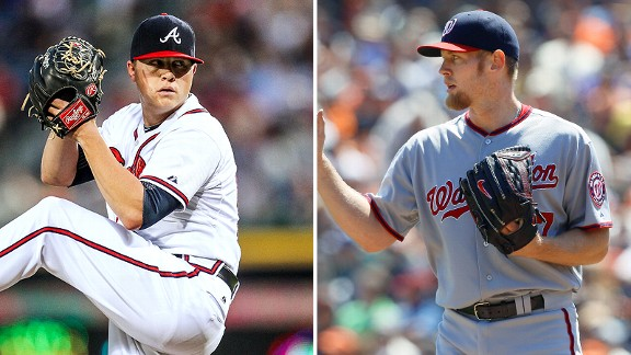 Kris Medlen and Stephen Strasburg