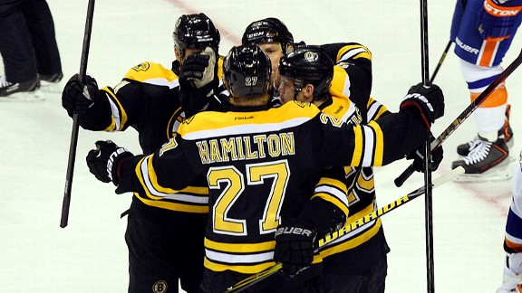 Dougie Hamilton, Shawn Thornton