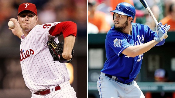 Roy Halladay, Eric Hosmer