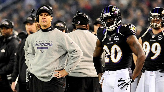 John Harbaugh, Ed Reed